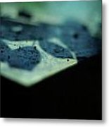 Blue Transience Metal Print