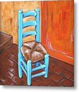 Blue Vincent Metal Print