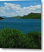 Blue Waters Of Horsetooth Reservoir Metal Print by Aaron Burrows