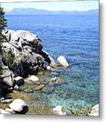 Blue Waters Of Lake Tahoe Metal Print