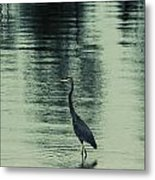 Bluegreen Lake Metal Print
