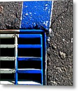 Bluer Sewer Four Metal Print