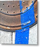 Bluer Sewer One Metal Print