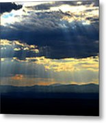 Blueray Panorama Metal Print