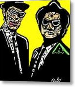 Blues Brothers Metal Print