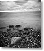 Bluffs Beach Wind 2 Metal Print
