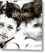 Blurred Thoughts Metal Print