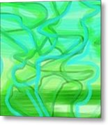 Bluzul Vergreen II Metal Print by Rosana Ortiz