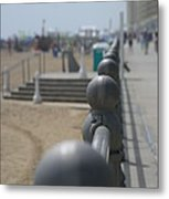 Board Walk Metal Print