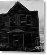 Boarded Up  Metal Print