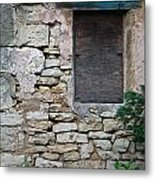 Boarded Window England Metal Print