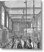 Boarding School, 1862 Metal Print