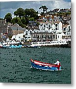 Boat At Brixham Metal Print