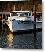 Boat At Rest Metal Print