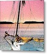 Boat Close Metal Print