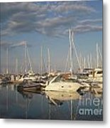 Harbor Cams Metal Print