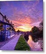 Boat Inn Sunrise 1.0 Metal Print
