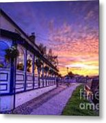 Boat Inn Sunrise 2.0 Metal Print