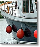 Boat Time Metal Print