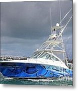 Boat Wrap On Cabo Metal Print