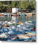 Boating Lake Metal Print