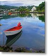 Boats-castries Harbor- St Lucia Metal Print