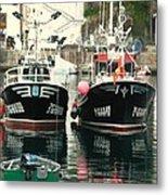 Boats Metal Print by Jenny Senra Pampin