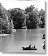Boats On The Water Metal Print