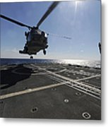 Boatswains Mate Signals The Pilots Metal Print