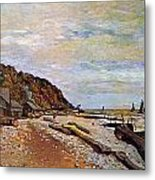 Boatyard Near Honfleur Metal Print by Claude Monet