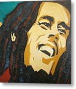 Bob Marley-amazing Story Metal Print