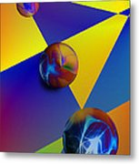 Bocce Metal Print by Anthony Caruso