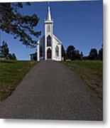 Bodega Church Metal Print by Garry Gay