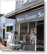 Bodega Country Store . Bodega Bay . Town Of Bodega . California . 7d12452 Metal Print by Wingsdomain Art and Photography