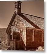 Bodie State Historic Park California Church Metal Print
