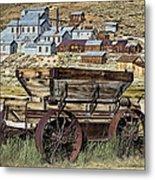 Bodie Wagon Metal Print