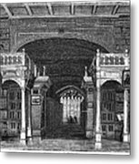 Bodleian Library, 19th Century Artwork Metal Print