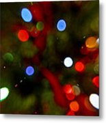 Bokeh Of Lights Metal Print