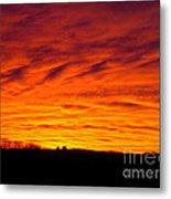 Bold Sunset Metal Print
