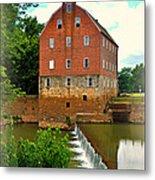 Bollinger Mill Metal Print