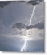 Bolt Out Of The Blue Metal Print