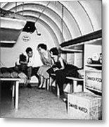 Bomb Shelter, 1955 Metal Print