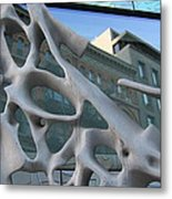 Bond Street Sculpture Metal Print