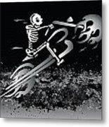 Bone Ride Metal Print