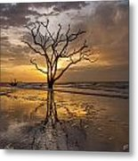 Boneyard Sunrise Metal Print