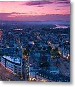 Bonn Panorama - Stadthaus Metal Print