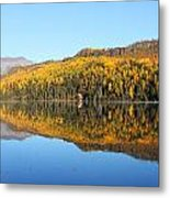 Bonnie Lake Reflections Metal Print