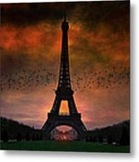 Bonsoir Paris Metal Print