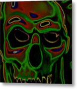 boo Metal Print by Barry Shaffer