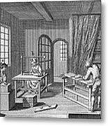 Bookbinder, 1763 Metal Print